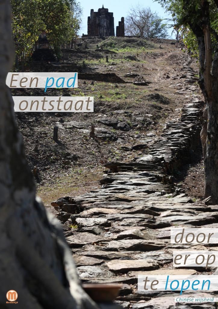 Een pad ontstaat door er op te lopen