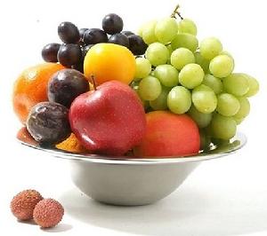 Exclusieve fruitschaal S&P fruitmand