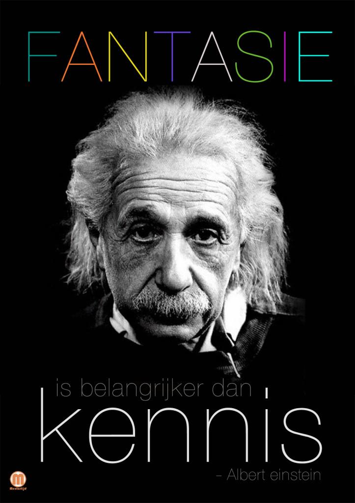 Fantasie is belangrijker dan kennis_
