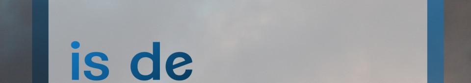 boven de wolken is de lucht altijd blauw_