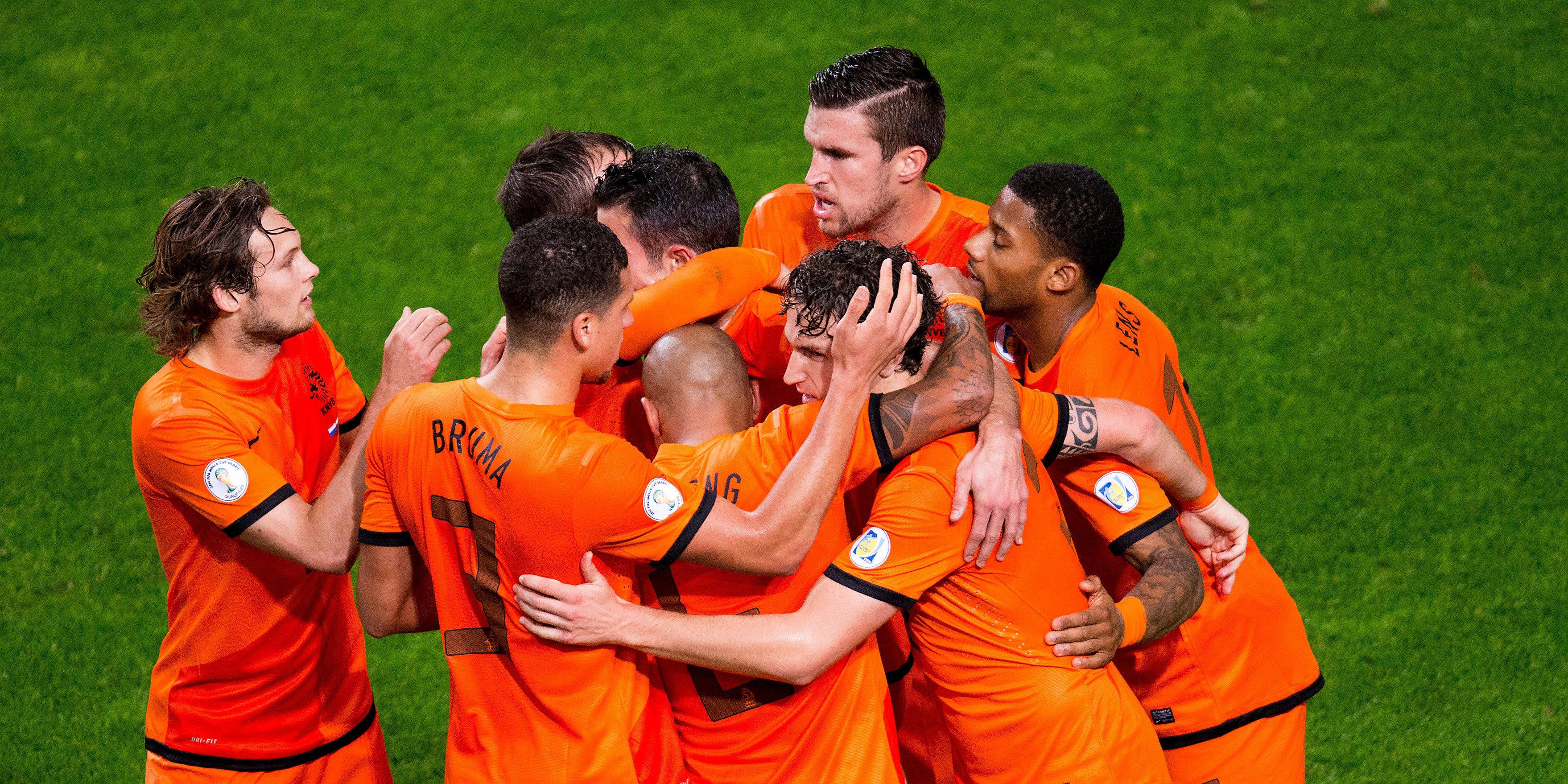 Nederlands Elftal Brazilie Elftal-oranje-wk-brazilie