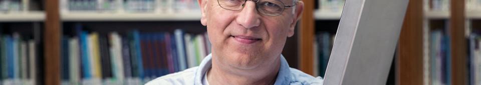 Nederland, Utrecht, 8 april 2015. Gert Biesta, lector, onderwijspedagoog, Universiteit voor Humanistiek. Foto: Werry Crone